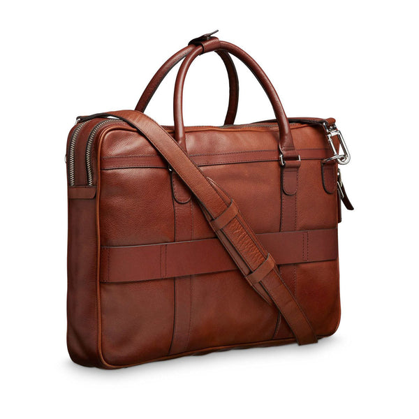 Printel briefcase, Medium brown
