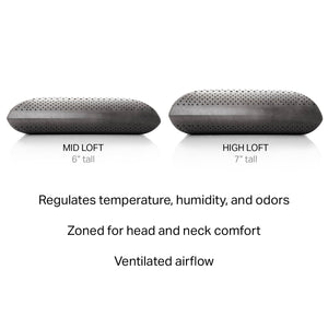 Z Zoned Bamboo Charcoal Dough Pillow
