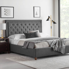 Load image into Gallery viewer, Malouf Eastman Upholstered Platform Bed