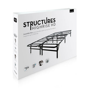 Structures High Rise HD Platform Bed Frame
