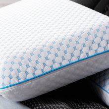 Load image into Gallery viewer, Weekender Gel Memory Foam Pillow with Cooling Cover