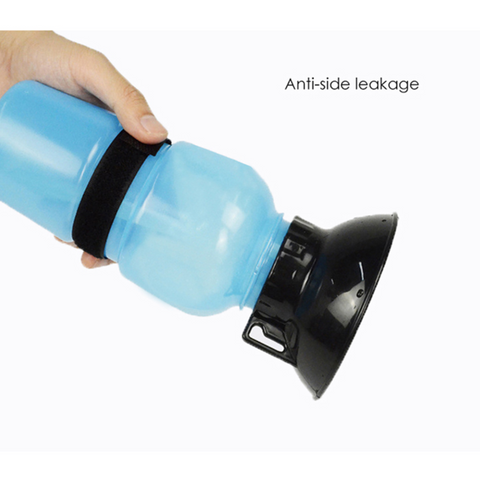 Portable Outdoor Dog Water Bottle Push