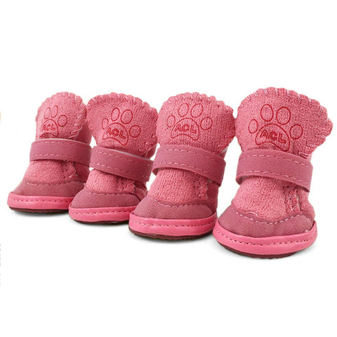 Snow Winter Soft Warm Dog Shoes