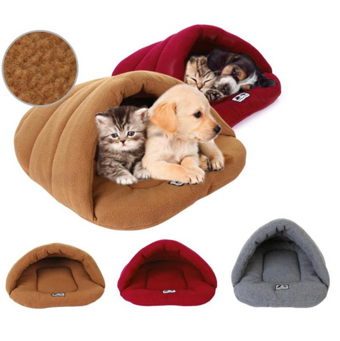 Slipper Dog Bed House for small dogs