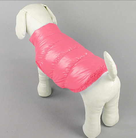 Warm Waterproof Snow & Rain Dog Coat