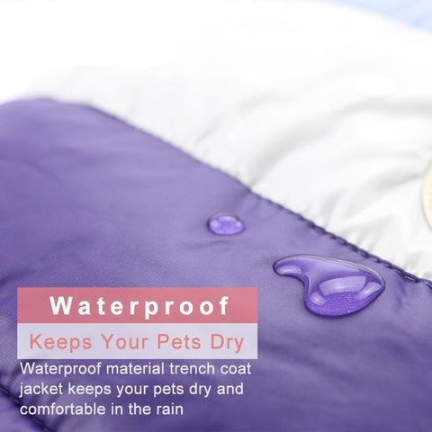 Waterproof Small Dog Jacket image- pupaddict.com