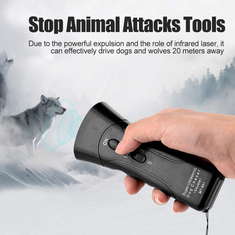 electronic handheld dog trainer repellent