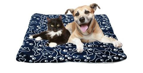 FLEECE PET BED MAT PAD - pupaddict