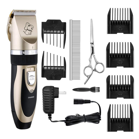 Professional Dog Electric Hair Trimmer | PUP ADDICT