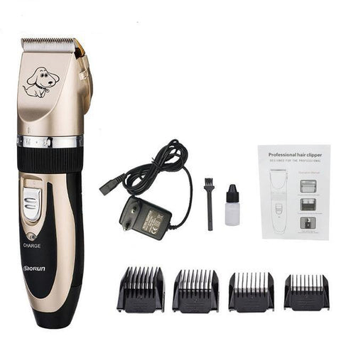 Professional Pet Dog Hair Trimmer | PUP ADDICT
