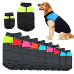 Strong Outdoor Warm Dog Vest Jacket