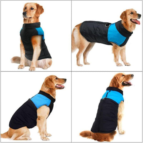Strong Outdoor Warm Dog Coat