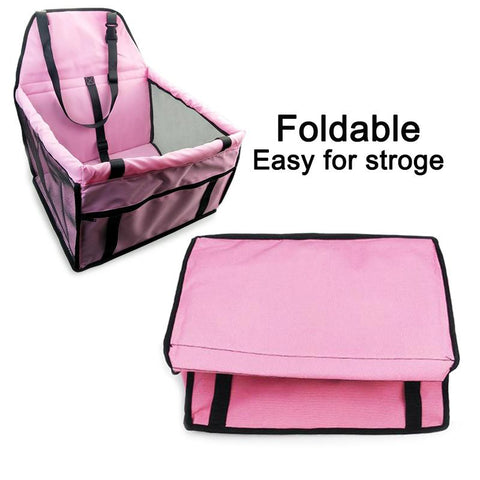 Dog Travel Booster Car Seat Carrier