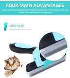 Pet Hair Brush Grooming Trimmer for Dogs & Cats | PUP ADDICT