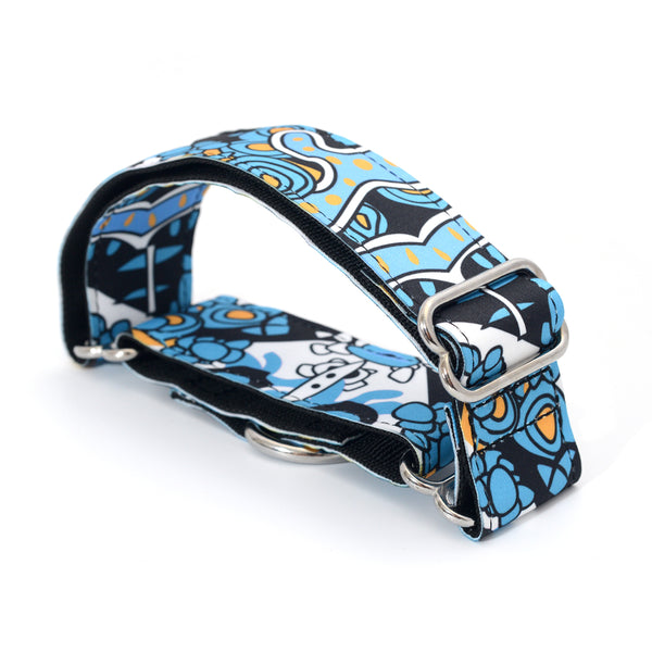 Print Fabric Martingale Dog Collar 2.5cm to 3.8cm
