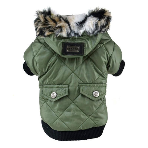 Cute Warm Winter Hoodie Dog Jacket | PUP ADDICT