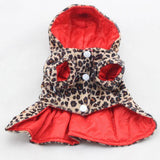 Leopard Pattern Tutu Coat Dog Dress | PUP ADDICT