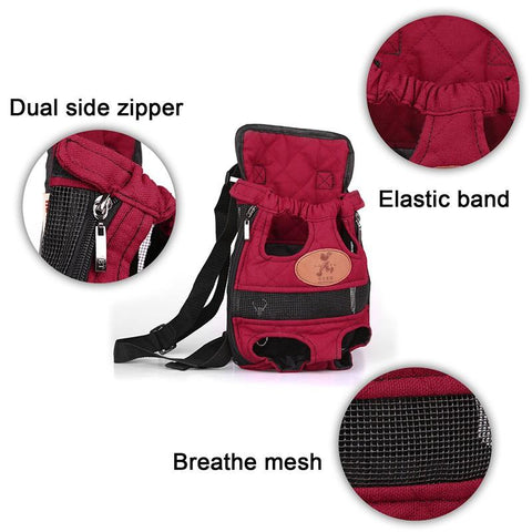 breathable pet carrier - pupaddict.com