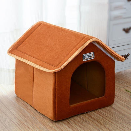 Portable Indoor Soft Dog House | PUP ADDICT
