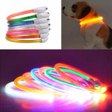 Adjustable Flashing LED Night Dog Collar | PUP ADDICT