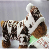 Fall and Winter Warm Snowflake Soft Sweater | PUP ADDICT