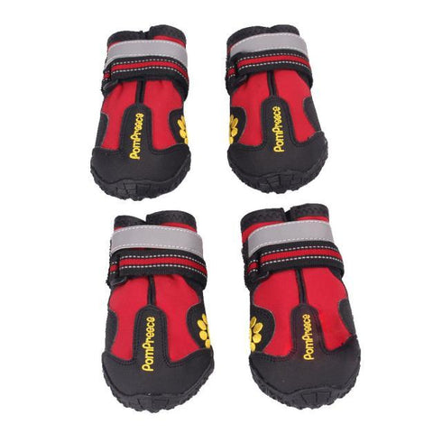 Waterproof Anti-slip Rubber Dog Shoes