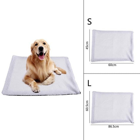 Self Heating Soft Thermal Pet Blanket | PUP ADDICT