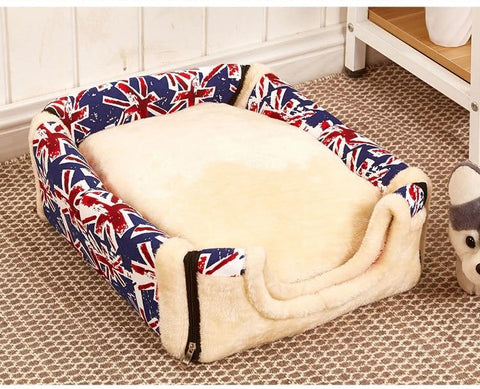 Pet cushion bed for dogs