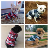 Dog Plaid Shirt for Small to Medium Dogs | PUP ADDICT