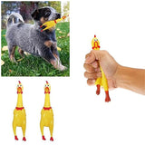 Screaming Chicken Squeeze Sound Dog Toy | PUP ADDICT
