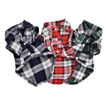 Plaid Summer Fashion Dog Shirt for Small and Medium Dogs | PUP ADDICT