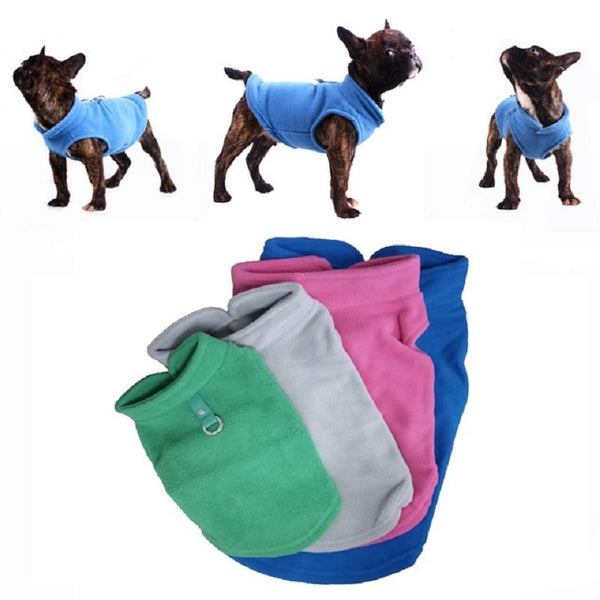Fleece Cute T-shirt Sweater for Small Dogs | PUP ADDICT
