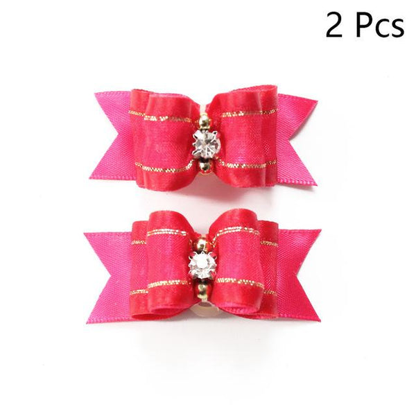 Grooming Bows For Small Dogs (10 PCS) | PUP ADDICT