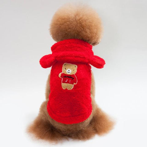 Soft Fleece Ropa Dog Hoodie Sweater | PUP ADDICT