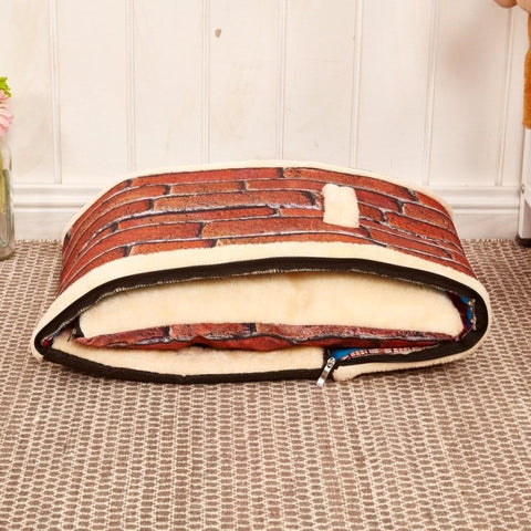 Pet house with mat and cushion - pupaddict.com