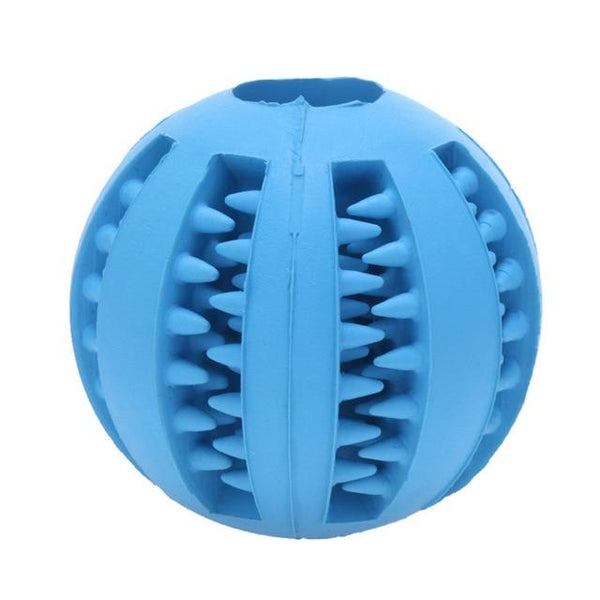 Dog Interactive Tooth Cleaning Rubber Ball | PUP ADDICT
