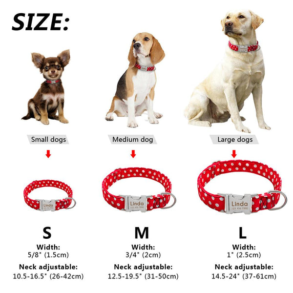 Personalized Customized Pet ID Collar | PUP ADDICT