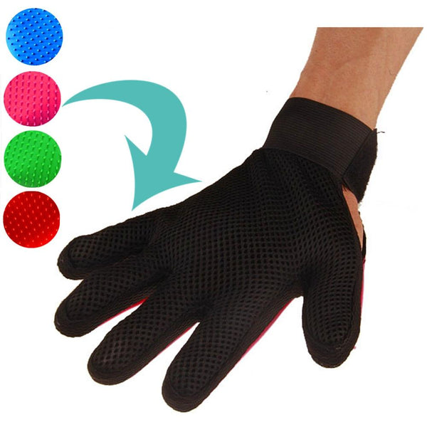 Silicone Pet Hair Grooming Gloves | PUP ADDICT