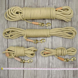 Long Tracking Nylon Rope Dog Leash | PUP ADDICT