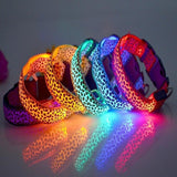 Flashing Glow LED Light Dog Collar | PUP ADDICT