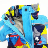 Winter Dog Snowsuit Jumpsuit with Zipper | PUP ADDICT