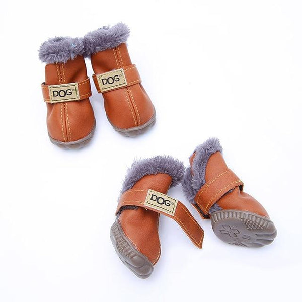 Fashion Waterproof Winter Small Dog Boots (2 Pairs) | PUP ADDICT