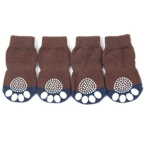 Beautiful Small Dog Warm Knitted Socks | PUP ADDICT