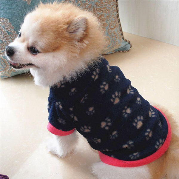 Cute Printed Warm & Soft Puppy Sweater | PUP ADDICT