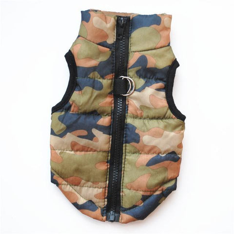 Warm Windproof Warm Vest for Small Dogs | PUP ADDICT