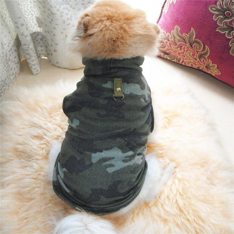 Winter Fleece Jacket For Small Dogs