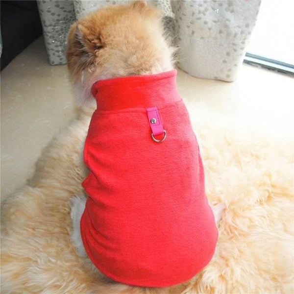 Winter & Warm Fleece Jacket For Small Dogs