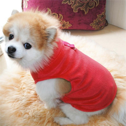 waterproof windproof warm fleece dog jacket