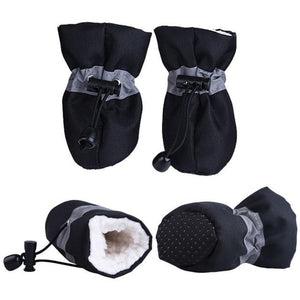 Soft-Soled Dog Rain Snow Boots | PUP ADDICT