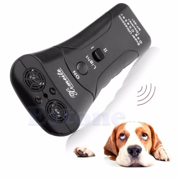 Handheld Dog Repellent & Trainer with Flashlight | PUP ADDICT